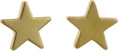 Jennifer Meyer Gold Mini Star Stud Earrings
