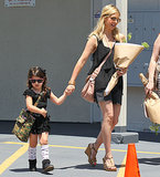 Sarah Michelle Gellar picked up her daughter, Charlotte, from ballet class in LA on Saturday.