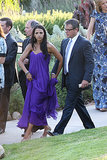 Luciana and Matt Damon attended the wedding.