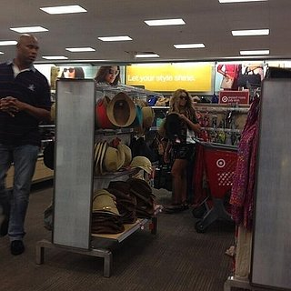 Beyonce Shopping at Target in Texas