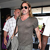 Brad Pitt Leaving LAX | Pictures