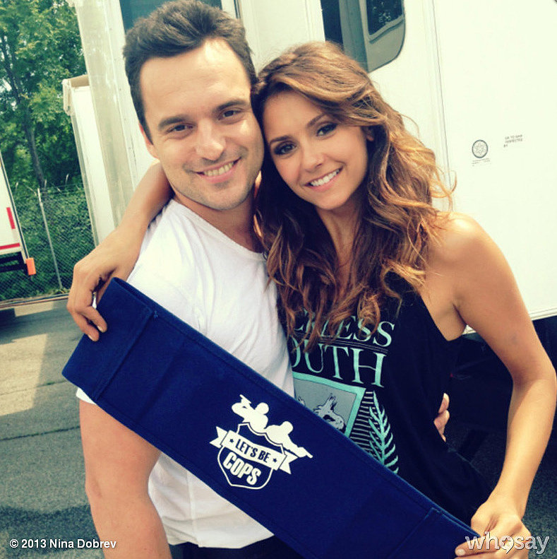 Obviously, this is the cutest picture I've ever seen. Source: Nina Dobrev on WhoSay