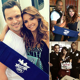 See Nina Dobrev, Jake Johnson, and Damon Wayans Jr. Goofing Off on the Set of Let's Be Cops