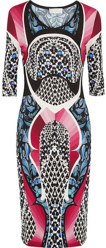 Peter Pilotto Isabel printed stretch-crepe jersey dress