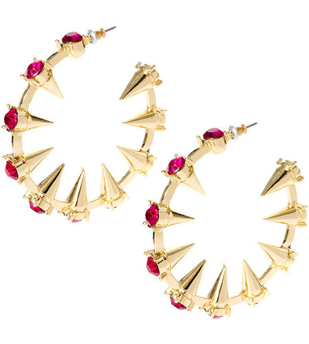 ASOS Large Spike Hoop Earrings