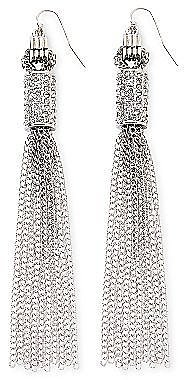 nicole by Nicole Miller® Crystal Tassel Earrings