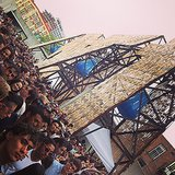 Black Frame posted live from MoMA PS1's Summer concert series. Source: Instagram user framenoir