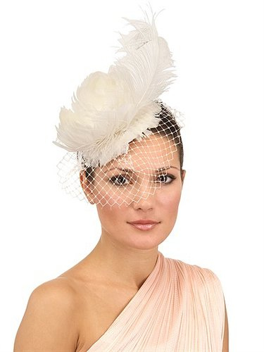 Brittany Mini Bridal Hat With Veil