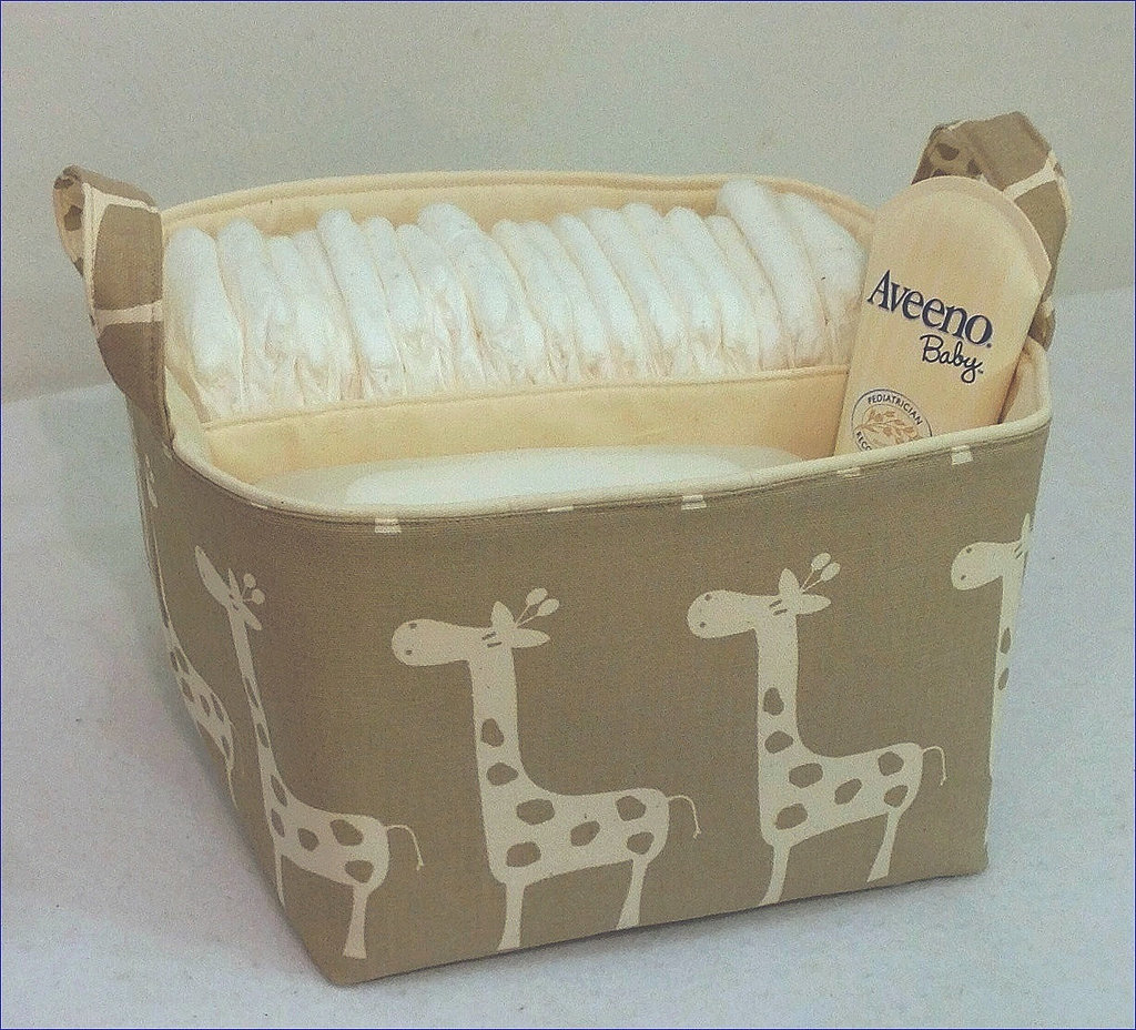 A Tabletop Diaper Caddy