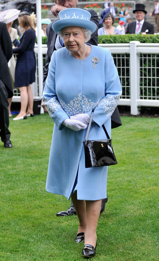 Queen Elizabeth's Launer Bags | POPSUGAR Fashion