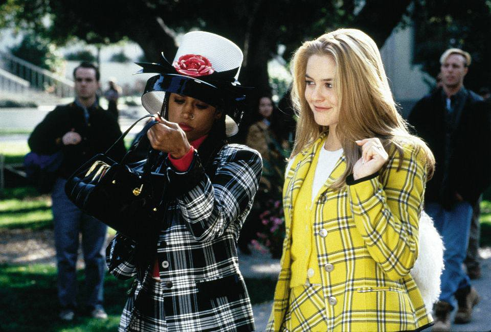 """Dionne and I were both named after famous singers of the past who now do infomercials."" They also roamed campus together in killer plaid. Shop the look below. Source: Facebook user Clueless"