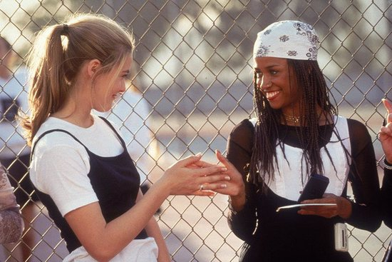 Cher and Dionne taught us that even gym class is an opportunity to show off your fashion sense. Beeper not included. Shop the look below. Source: Facebook user Clueless