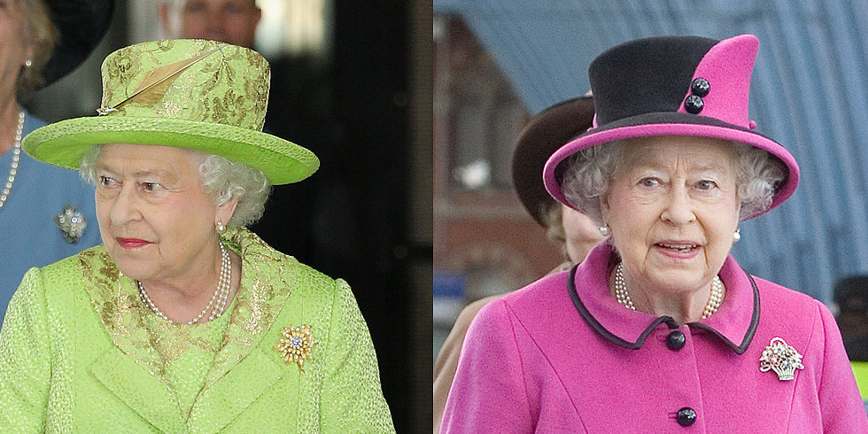 The Queen's Wardrobe Is About to Get a Bit More Colorful