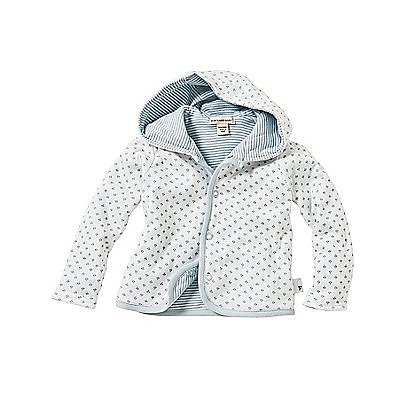 The Dottie Bee Reversible Jacket ($20) packs a two-in-one punch with both striped and bee-print options. It's made of 100 percent organic cotton and comes in baby pink and blue.