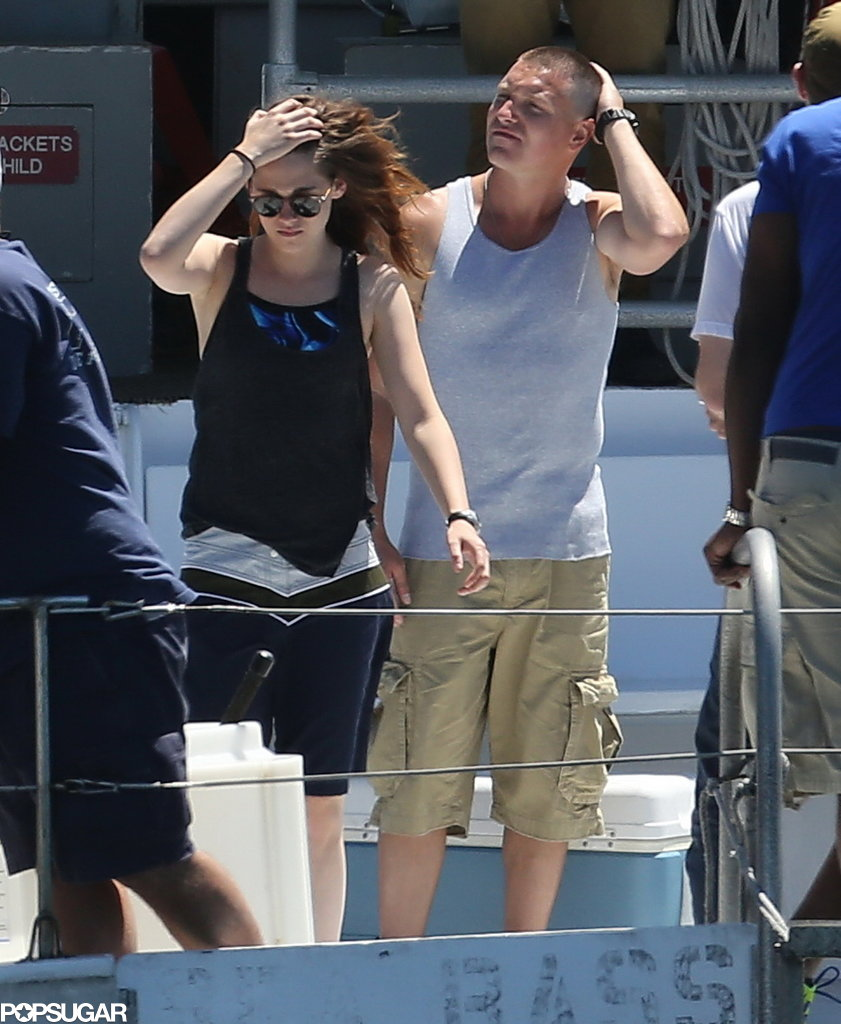 Kristen Stewart Switches From Sweats to Fatigues