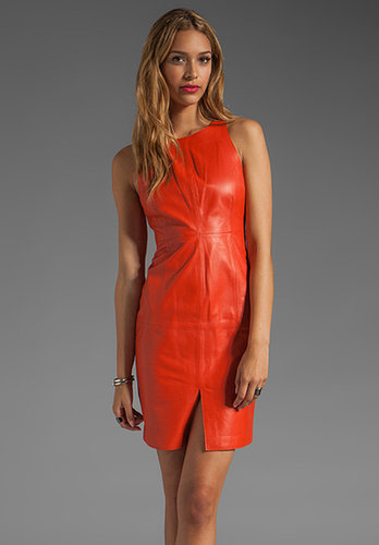 Susana Monaco Anabel Leather Dress