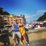 Joel Madden and Nicole Richie showed sweet PDA during their vacation in Italy. Source: Instagram user nicolerichie