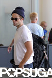 Robert Pattinson Touches Down in Toronto For a Stint on Set