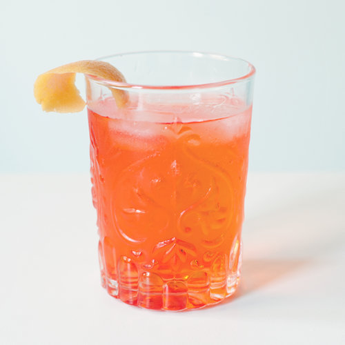 Bitter Orange and Limoncello Cocktail