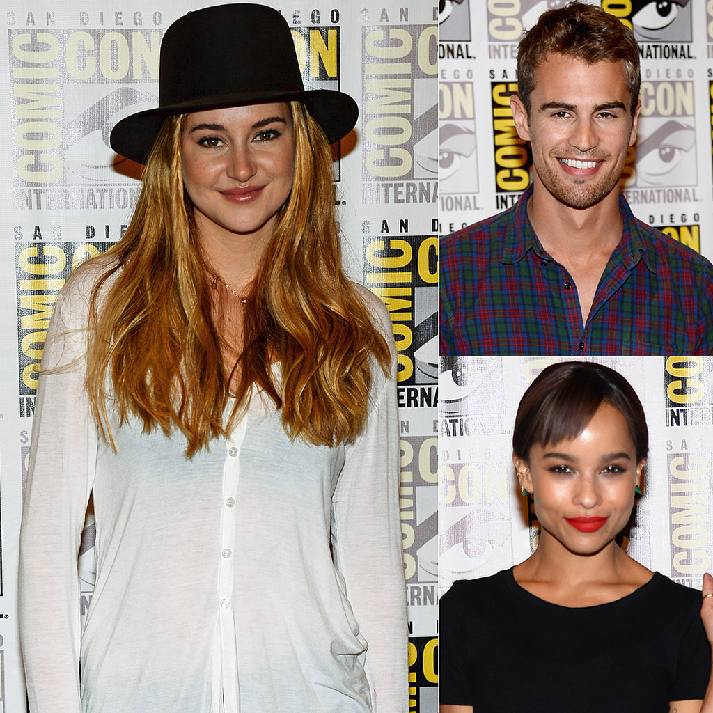 Excited About Divergent Yet? Let Cool Kids Shailene, Zoe, and Theo Convince You Why You Should Be!