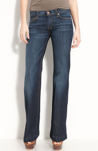 7 For All Mankind 'Dojo' Stretch Trouser Jeans (Midnight New York)
