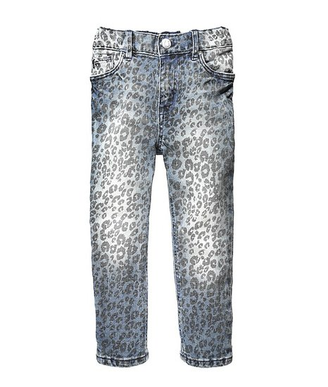 Printed denim is still en vogue for grown-ups and kids alike — these leopard-print jeans are a back-to-school must.