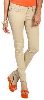 WetSeal Fashionista Skinny Jean - Short Doeskin