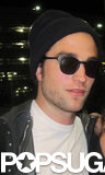 Robert Pattinson arrived at Toronto's airport to start shooting a new film.