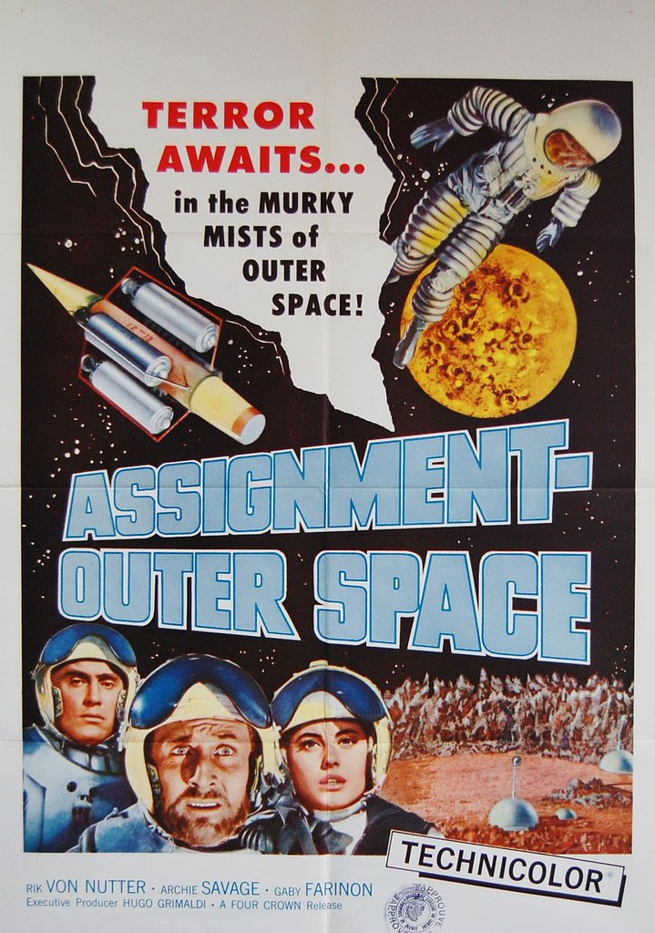 1962 Assignment Outer Space Poster