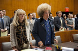 Phil Spector 11 nominations total, including:  Outstanding miniseries or movie Outstanding lead actor in a miniseries or movie, Al Pacino Outstanding lead actress in a miniseries or movie, Helen Mirren Outstanding directing for a miniseries, movie, or a dramatic special, David Mamet Outstanding writing for a miniseries, movie, or a dramatic special, David Mamet