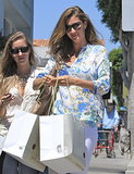 Even when she wasn't with her kids, Gisele Bündchen was thinking about them, like when she went shopping at the Peek store in Brentwood.