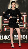 The Twilight star chose a sophisticated Prabal Gurung minidress for Eclipse's 2010 premiere in South Korea.