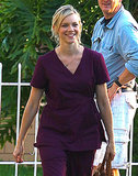 Amy Smart filmed scenes for her newest project in LA on Wednesday.