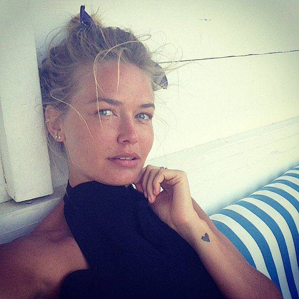 Lara Bingle modelled a set of diamond gifts. Source: Instagram user mslbingle