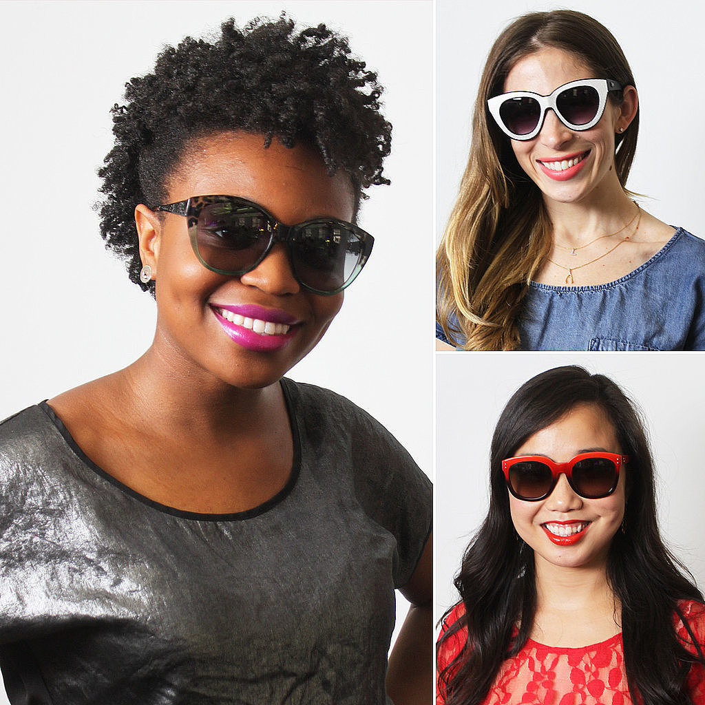 At last — you'll never have to wonder which lipstick to match with your sunglasses again.