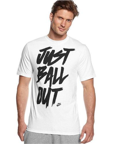 Nike T-Shirt, Short-Sleeve Ball Out Graphic T-Shirt