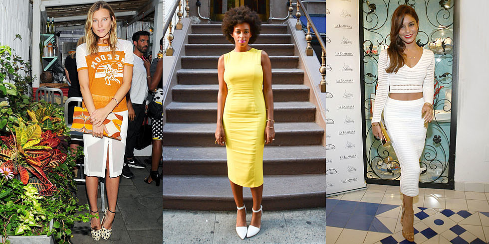 Solange, Dree, and Vanessa Are the Leaders of This Week's Style Pack