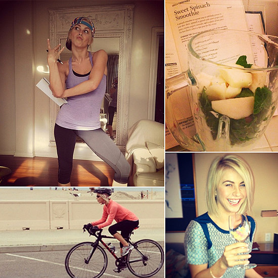 Julianne Hough's Healthy-Living Tips