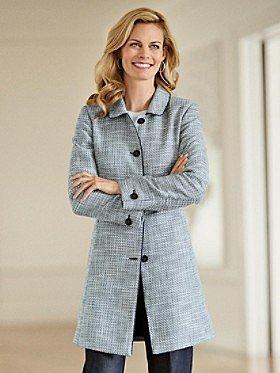 Textured Tweed Departures Jacket
