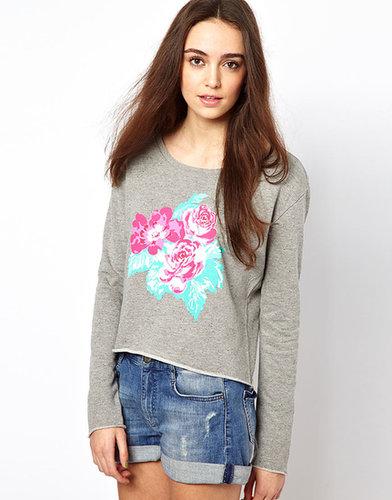 Vero Moda Floral Sweat Top
