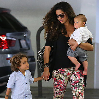 Camila Alves With Her Sons in LA | Pictures