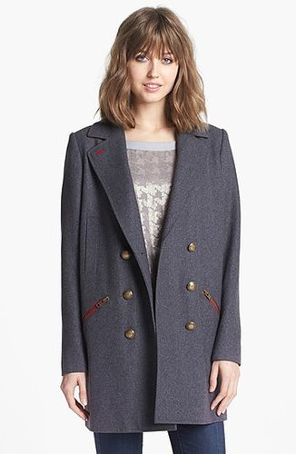Trouve Military Overcoat Medium