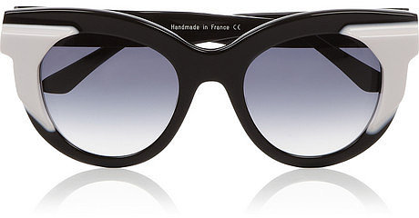 Thierry Lasry Two-tone acetate cat-eye sunglasses