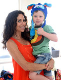 Minnie Driver hosted her son Henry's birthday party in LA on Sunday.