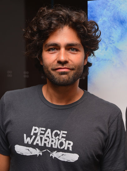 Adrien Grenier kept things casual at the NYC premiere of Blue Jasmine.