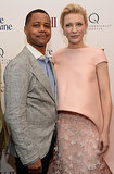 Cuba Gooding Jr. and Cate Blanchett snapped a picture together at the premiere.