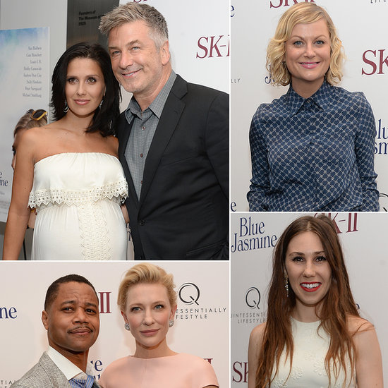 Amy Poehler, Alec Baldwin, and More Stars Meet Up For Woody's Blue Jasmine