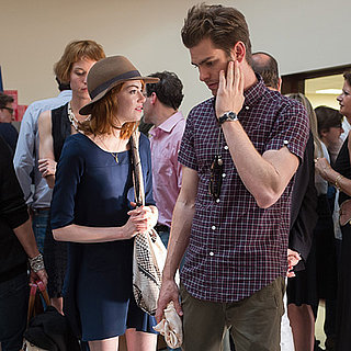 Emma Stone and Andrew Garfield at Woody Allen Concert