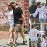 Jennifer Lopez and Casper Smart Heat Up the Hamptons With Hugs