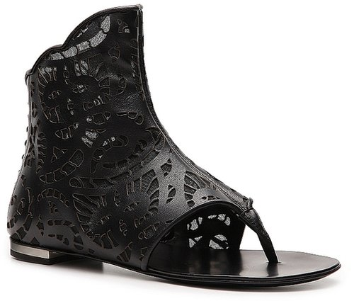 Giuseppe Zanotti Leather Gladiator Sandal